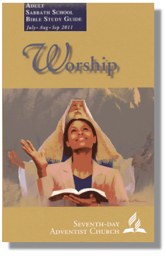 Worship Adult Study Guide (lesson cover)